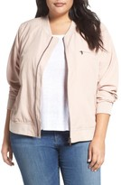 Plus Size Women's Caslon Bomber Jacket
