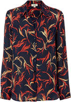 L'Agence Nina Saratoga Printed Shirt