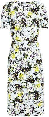 Erdem Essie Floral-print Ponte Dress