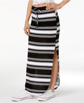 Ultra Flirt Juniors' Kylie Double-Slit Maxi Skirt