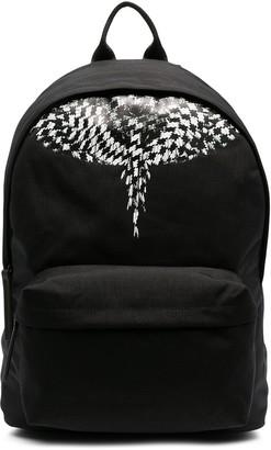 Marcelo Burlon County of Milan Cross Wings large backpack