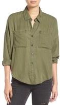 BP Women's Slouchy Button Front Shirt