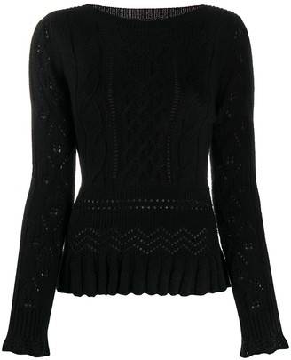 See by Chloe Cable Knit Jumper