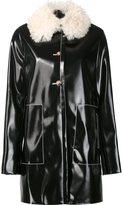 Proenza Schouler shearling collar coat