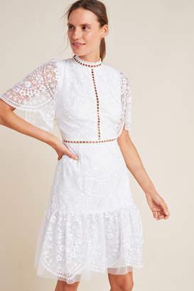 ML Monique Lhuillier Greta Lace Dress