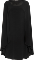Alberta Ferretti Mini Cape Dress