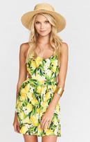 MUMU Piper Dress ~ Citrus Stretch