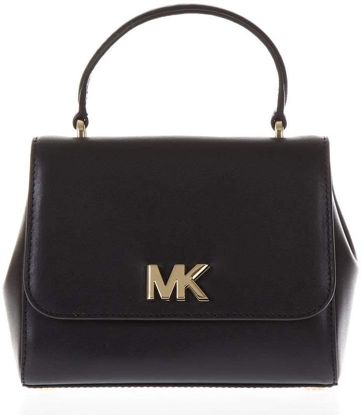 b5c2558bdfdb70 MICHAEL Michael Kors Black Metallic Leather Handbags - ShopStyle