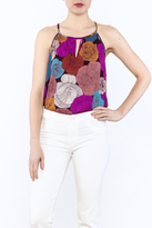 y&i clothing boutique Large Floral Tank