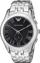 Emporio Armani Men's AR1706 Classic Analog Display Analog Quartz Silver Watch