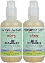California Baby Hair De-Tangler Spray - Calming - 8.5 fl oz - 2 pk