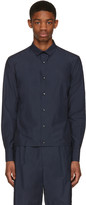 Kolor Navy Button-Down Shirt