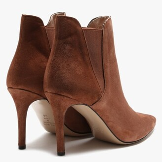 Daniel Adril Tan Suede Ankle Boots
