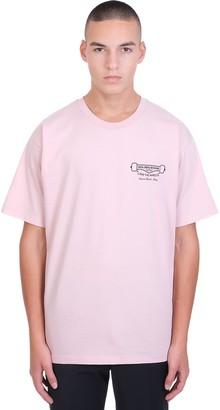 Golden Goose Artu T-shirt In Rose-pink Cotton