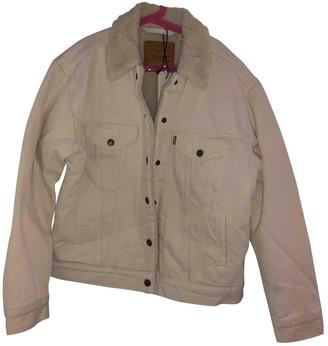 Levi's Beige Denim - Jeans Leather jackets