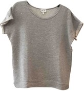 Bel Air Grey Cotton Top for Women