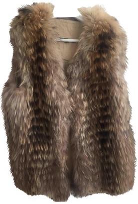 Bel Air Brown Raccoon Jacket for Women