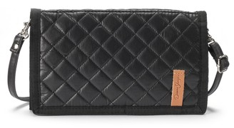 Donna Sharp Large Quilted Tri-Fold Crossbody Wallet