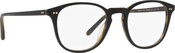 Thumbnail for your product : Oliver Peoples Ov5414u Semi Matte Black / Olive Tortoise Glasses