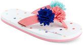 Hanna Andersson Multi Flip-Flop Sandals, Toddler, Little Girls (4.5-3) & Big Girls (3.5-7)