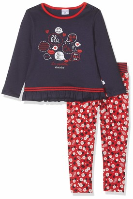 Absorba Baby Girls' 7p36251-ra Ts Pantalon Clothing Set