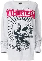 R 13 distressed sweatshirt