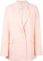 Carven boxy blazer - women - Polyester/Acetate/Viscose/Wool - 42