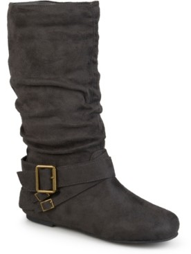 Journee Collection Women's Wide Calf Shelley-6 Boot Women's Shoes