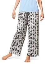 Hue Women's Printed Knit Long Pajama Sleep Pant