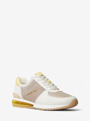 MICHAEL Michael Kors Allie Extreme Leather and Mesh Trainer