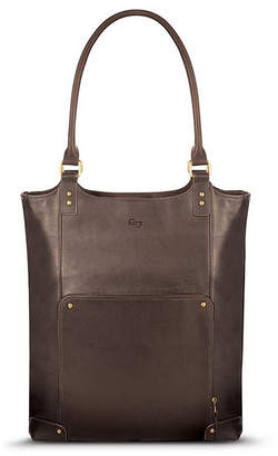 """Solo Chambers Leather 16"""" Bucket Tote"""