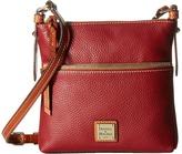 Dooney & Bourke Pebble Leather Letter Carrier