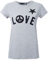 Love Moschino sequin-embellished T-shirt