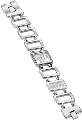 Miss Sixty Gold Sand - Silver Bracelet White Dial - N9001