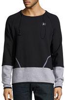 Spenglish Toggle Colorblock Sweatshirt