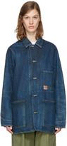 Chimala Indigo Denim Work Chore Jacket