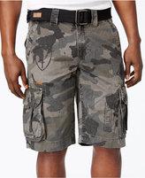"""Affliction Men's Camo Cargo 12 1/2"""" Shorts"""