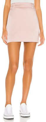 GRLFRND Jain Mini Skirt