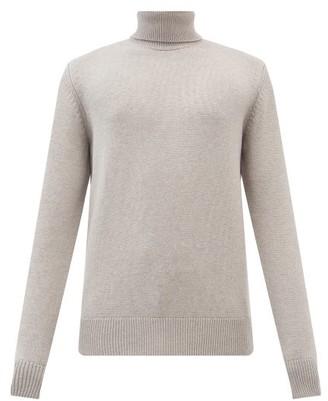 Gabriela Hearst Charlet Cashmere Roll-neck Sweater - Beige