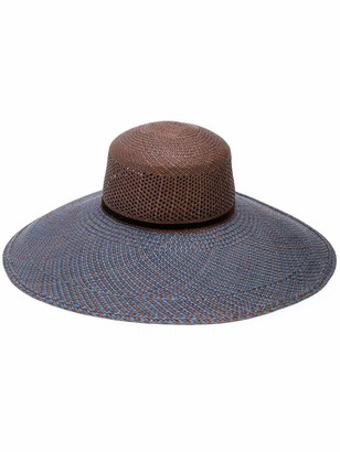 The Freya Brand Magnolia Wide Brim Woven Hat