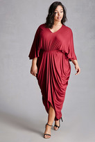 Forever 21 FOREVER 21+ Plus Size Maxi Cocoon Dress