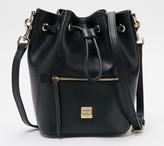 Dooney & Bourke Leather Saffiano Small Drawstring Bag