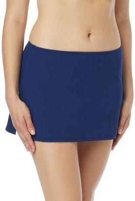 Beach House Women's Charlotte Skirted Swimsuit Bottom with Side Slit Detail