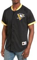 Mitchell & Ness Men's Nhl Seasoned Pro - Pittsburgh Penguins Mesh Shirt
