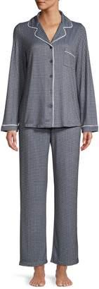 Jones New York 2-Piece Printed Pyjama Set