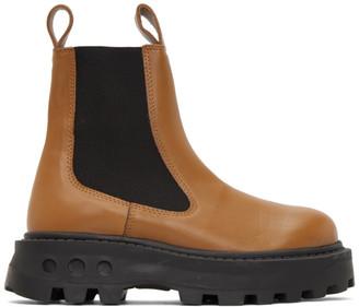 Simon Miller Tan Scrambler Boots