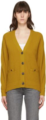 Rag & Bone Yellow Cashmere Pierce Cardigan