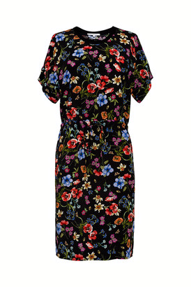 Gerard Darel Stacy - Straight And Sporty Printed Crepe Dress
