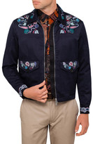 Paul Smith Embroidered Zip Taxi Jacket