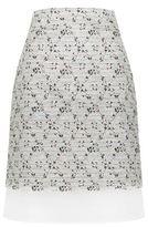 Giambattista Valli Floral Boucle Skirt